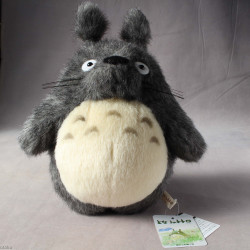 Totoro - Plush - Dai Totoro Grey 12 Inch High