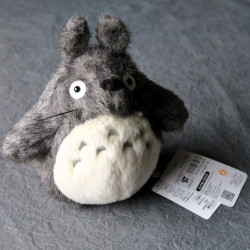 Totoro - Plush - Dark Grey 7 Inch High