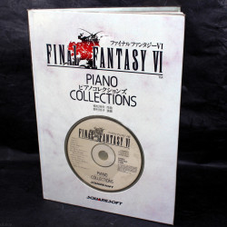 Final Fantasy VI - Piano Collections - 1st Edition Book and CD