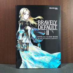 BRAVELY DEFAULT II 2 Official Guide Book