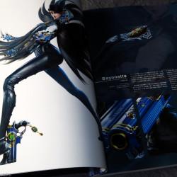 Bayonetta 2 Official Art Book - The Eyes of Bayonetta 2