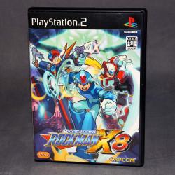 Mega Man RockMan X8 - PS2 Japan