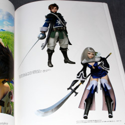 The Art of Bravely Second End Layer Design Works - 2013-2015
