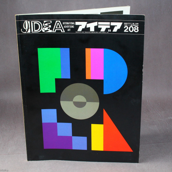 Idea International Graphic Art And Typography - 208