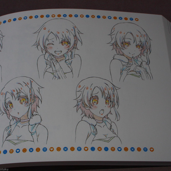And you thought there is never a girl online? Art Book