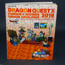 Dragon Quest X Fashion and Housing Catalog - 2016 Fall Collection