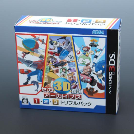 Sega 3D Fukkoku Archives 1, 2, 3 Triple Pack - 3DS Japan