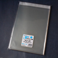 Clear OPP Plastic Sleeves - Sealable - For Books - 230 x 320 mm size