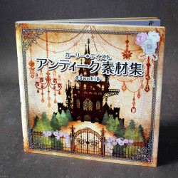 Girly Taste - Antique Material Designs Art Collection Book