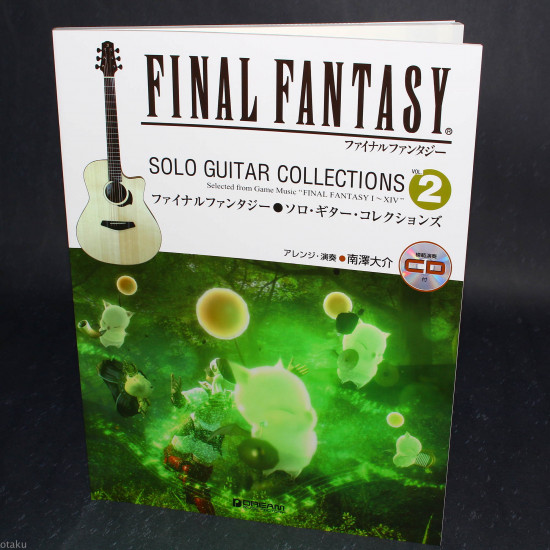 Final Fantasy - Solo Guitar Collections 2 Book plus CD