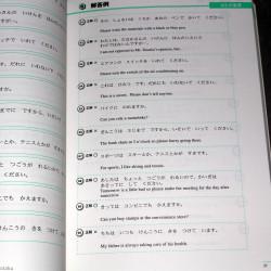 JLPT N4 Reading - Study Guide Book