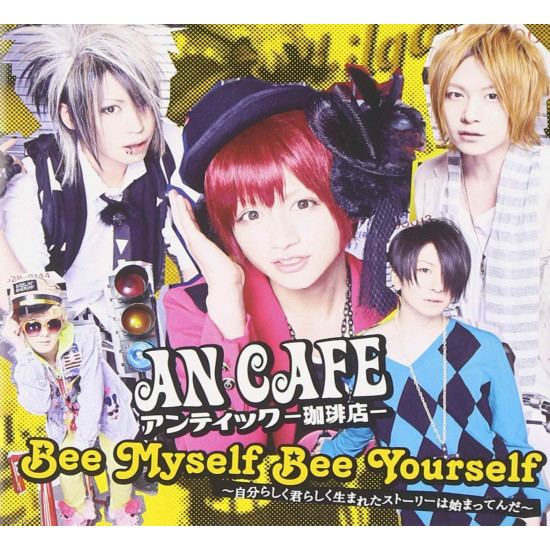 An / Antic Cafe - Bee Myself, Bee Yourself - Maxi CD Single