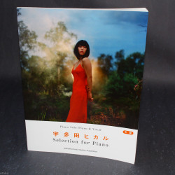 Hikaru Utada Selection for Piano - Music Score Book