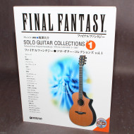 Final Fantasy Solo Guitar Collections Vol. 1 Tab Music Score and CD