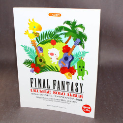 Final Fantasy - Ukelele Solo Album - Music Score with CD