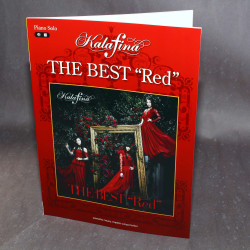 Kalafina The Best: Red - Piano Solo Music Score Book