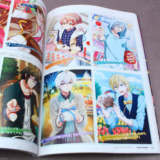 Idolish7 Official Fan Book 2