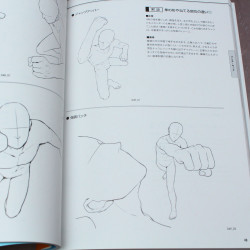How to Draw: 450 Action Poses - Japan Manga Art Book
