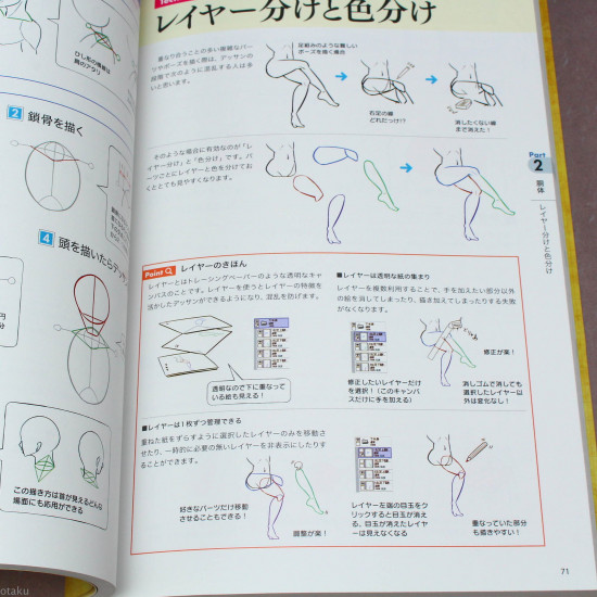 How to Draw Bodies - Anime Art Guide Book