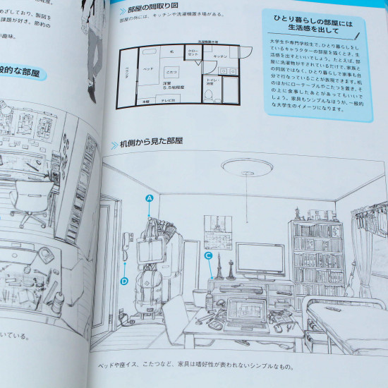 How to Draw - Bedrooms and Interiors