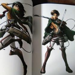 Attack on Titan - Anime Illustrations Book