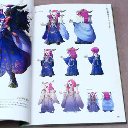 Seiken Densetsu 2 Secret of Mana - Artworks and Game Guide Book