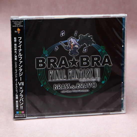 BRA BRA Final Fantasy VII Brass de Bravo