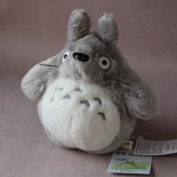 Totoro - Plush - Light Grey 7 Inch High