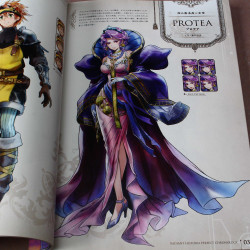 Radiant Historia Perfect Chronology - Official Artworks