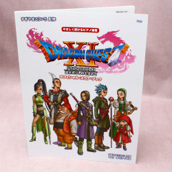 Dragon Quest XI - Official Piano Score Book - Intermediate