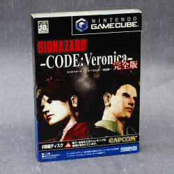 BioHazard Code: Veronica Complete - GameCube Japan