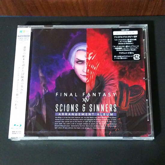 Scions and Sinners FINAL FANTASY ⅩⅣ Arrangement Album Blu-ray