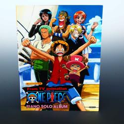 One Piece Japan Anime - Piano Solo Music Score