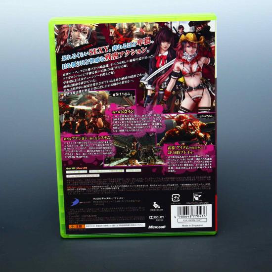 Onechambara Z: Kagura - XBox 360 Japan