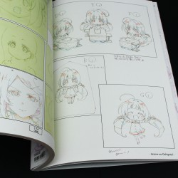 Anime no Shigoto! - The Ryuo's Work is Never Done! - Art Book