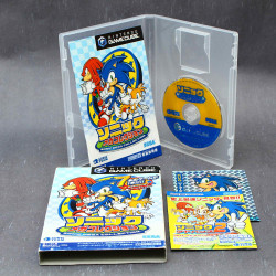 Sonic Mega Collection - Gamecube Japan