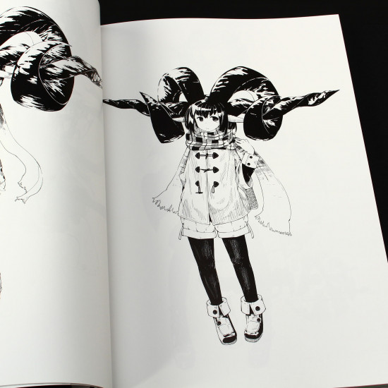 Anime Manga Fantasy Girl Monochrome Illustration Techniques