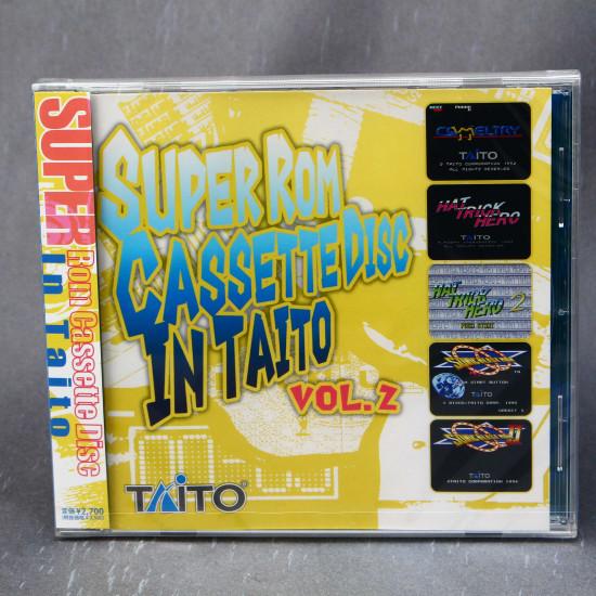 SUPER Rom Cassette Disc In TAITO Vol.2