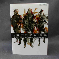 Left Alive - Guide and Art Book
