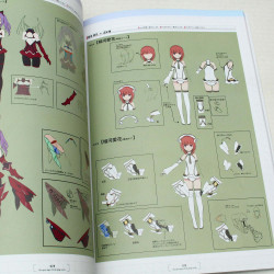 Alice Gear Aegis - Official Design Works Book