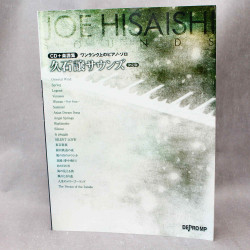 Joe Hisaishi - Piano Score Solo Collection Book plus CD