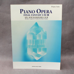 Final Fantasy Piano Opera Music I / II / III Music Score