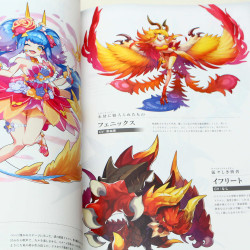 Dragalia Lost Official Art Book