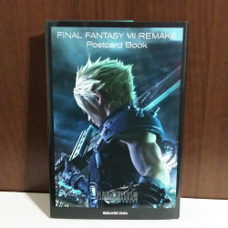 FINAL FANTASY VII REMAKE Post Card Book