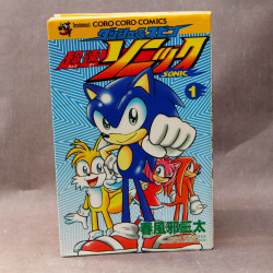 Sonic the Hedgehog Dash Spin Manga - Vol.1 - Comic Book