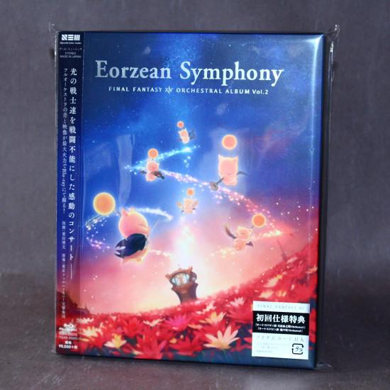 Final Fantasy XIV Eorzean Symphony Orchestral Album Vol 2 Blu-ray