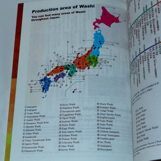 Washi - What is Washi - Japan Paper Reference Book