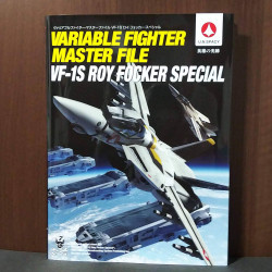 Variable Fighter Master File VF-1S Roy Focker Special