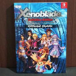 Xenoblade Definitive Edition Official Guide Book