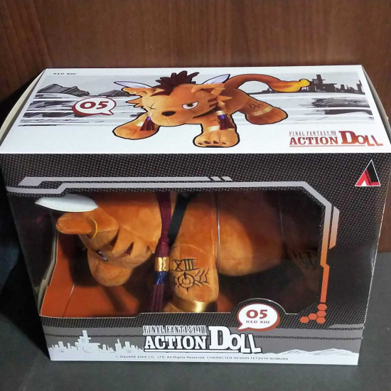 Final Fantasy VII Action Doll Red XIII